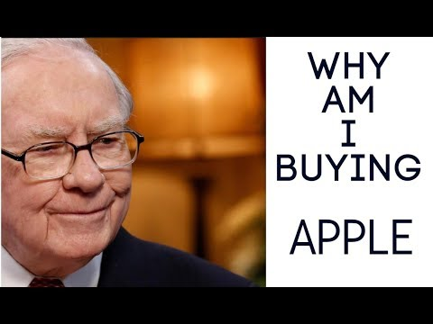 APPLE STOCK - LONG TERM ANALYSIS - WHY IS BUFFETT BUYING?