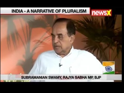 Dr Subramanian Swamy Speaking about Idea of India at 70 in RoundTable
