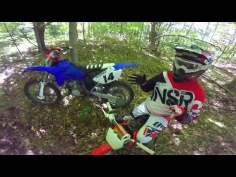 Making Enduro Trails   Technical Dirtbike Trails   GoPro