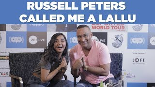 Russell Peters Called  Me A Lallu | #RealTalkTuesday| MostlySane