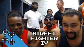 Street Fighter IV tennis ball pegging — Gamer Gauntlet