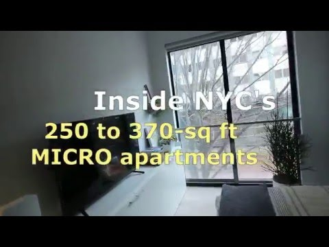 Inside Carmel Place: NYC's first micro apartment building