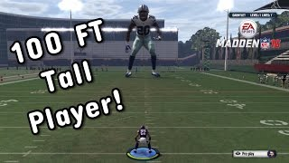 HIT STICKING A 100 FT GIANT!!! Madden 16 Gauntlet Gameplay
