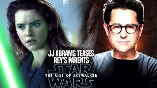 Download The Rise Of Skywalker JJ Abrams Teases Rey's Parents (Star Wars Episode 9) Video