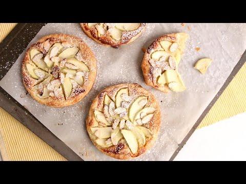 Almond Apple Tart Recipe - Laura Vitale - Laura in the Kitchen Episode 985