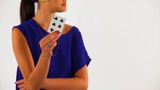 How to Find a Person's Chosen Card   Coin & Card Magic