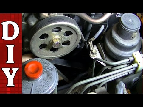 How to Replace All Your Drive Belts - Honda Accord 2.2L VTEC