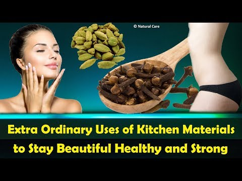 Extra Ordinary Uses of Kitchen Materials to Stay Beautiful Healthy and Strong