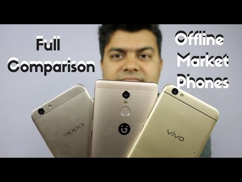 Gionee S6s VS Vivo V5 VS OPPO F1s Full Comparison, Camera, Value For Money | Gadgets To Use