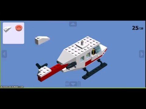 How to make Helicopter (set 6392) in Lego Digital Designer
