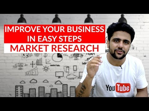Market research   Improve your business in few steps   MBA Topics  Hindi