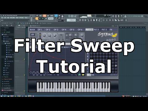 FL Studio Filter Sweeps Tutorial (Sytrus)