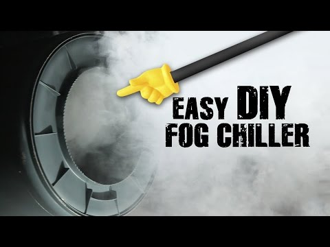 EASY DIY Fog Chiller - Halloween Practical Effect | QUICK FX