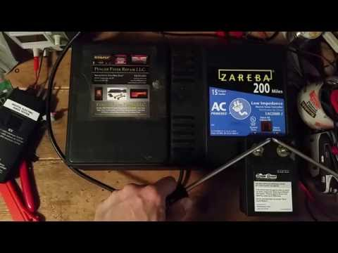 Testing a Zareba Electric Fence Charger