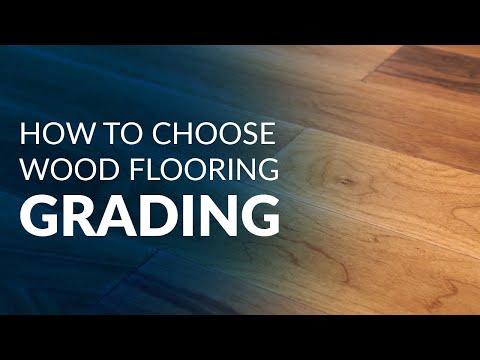 How to Choose Wood Flooring: Grading
