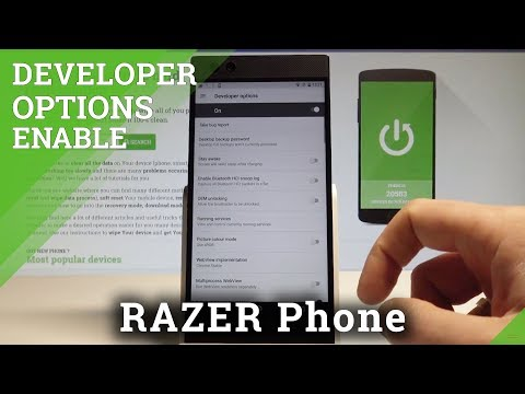How to Enable Developer Options in RAZER Phone - OEM Unlocking / USB Debugging  HardReset.Info