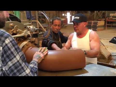 Making a Clay Sewer Pipe Elbow at Mission Clay Products