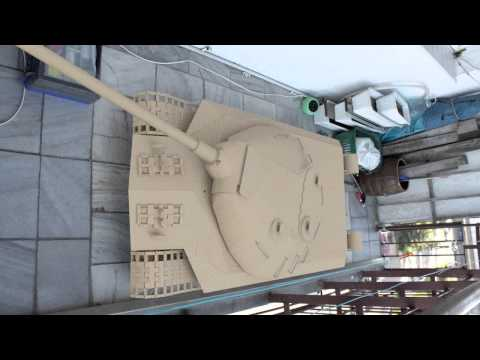 World of Tanks contest: Build a Tank Model