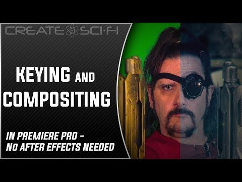Green Screen Keying And Compositing Tutorial Video Without After Effects