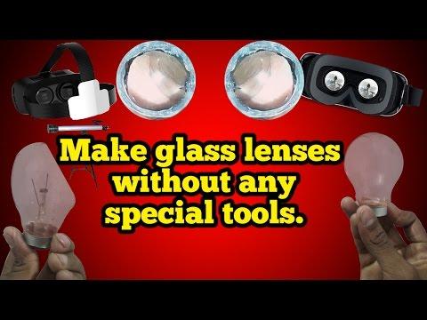 How to make a vr lens? #lenses, #vr box, #glasslens