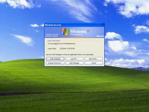 How to fix it taskbar is gone in windwos xp