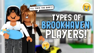 Types of PLAYERS In BROOKHAVEN RP!   SunsetSafari