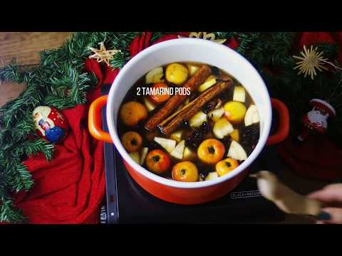 How to Make Mexican Christmas Punch | Vegan Recipe
