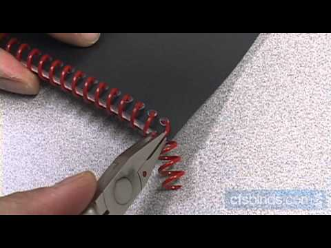 How To Properly Crimp Coil Bound Books