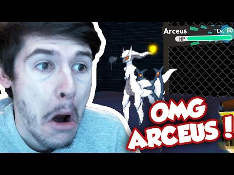LEGENDARY ARCEUS IN POKEMON BRICK BRONZE!! / RussoPlays vs DominoKid123