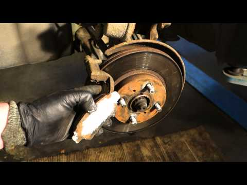 How to replace front brake pads Toyota Yaris. Years 1999 to 2007.