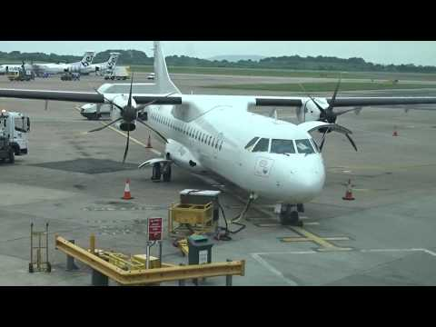 Aer Lingus ATR-72-600 EI-FMK Southend-Manchester *FULL FLIGHT*