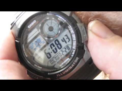 Casio Men's World Time Black Illuminator Digital Watch Review