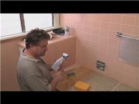 Cleaning Tile  : How to Clean Bathroom Wall Tiles