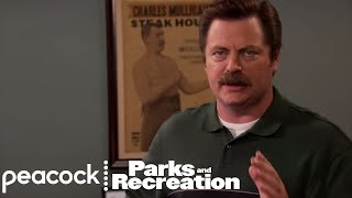 Ron Swanson Gets Audited - Parks and Recreation