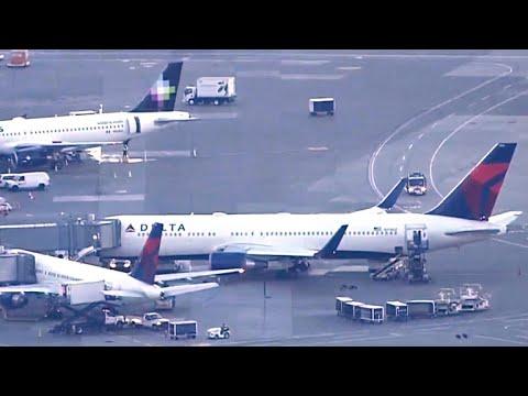 Passenger attacks Delta flight attendant midair