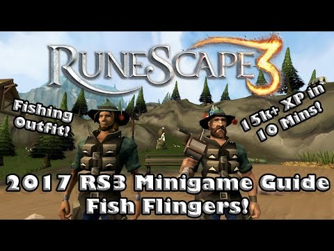 Great Fishing Xp and a Skilling Outfit! - Fish Flingers! - RS3 Minigame Guide