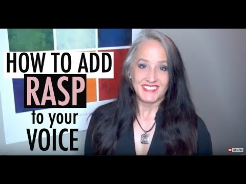 How to Sing wth a Raspy Tone without Hurting Your Voice - Metal, Rock, Extreme Singing - Vocals