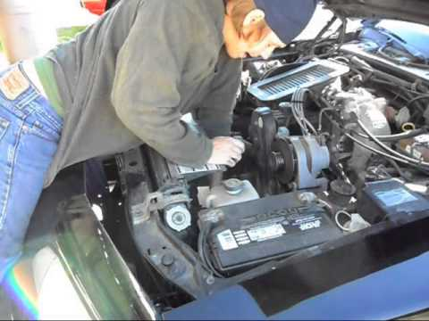 How to change the timing belt on a Ford 2.3L engine.