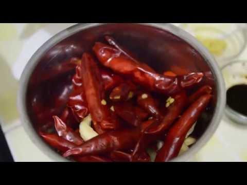 Schezwan Sauce | Shezwan Sauce Recipe By Chef Shaheen