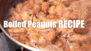 Boiled Peanut Recipe You Made What