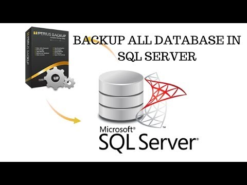 How to Easily Backup all database in SQL server using Query
