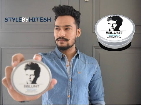 Hair clay I Bblunt I Review