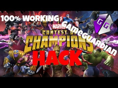 How To Hack Marvel Contest Of Champion With GameGuardian