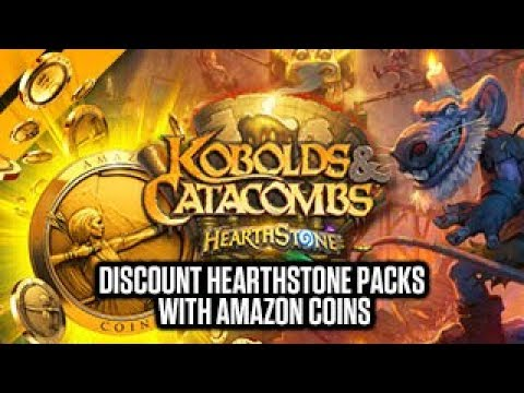 [Hearthstone] Discount Kobolds & Catacombs Packs w/ Amazon Coins