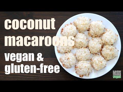 coconut macaroons (vegan & gluten-free) Something Vegan