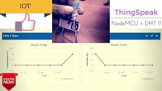 NodeMCU - Arduino Core 3  Upload LM35 Data to THINGSPEAK