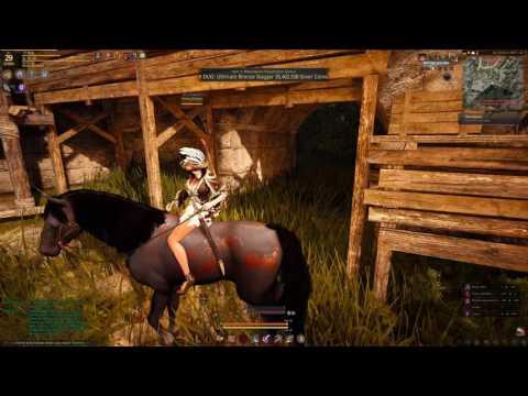 Black Desert Online Gameplay Episode 2 - Leveling Maehwa Class - 4K Resolution