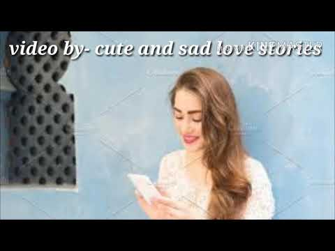 Love story of a boy convincing his  angry girl very cute chatting