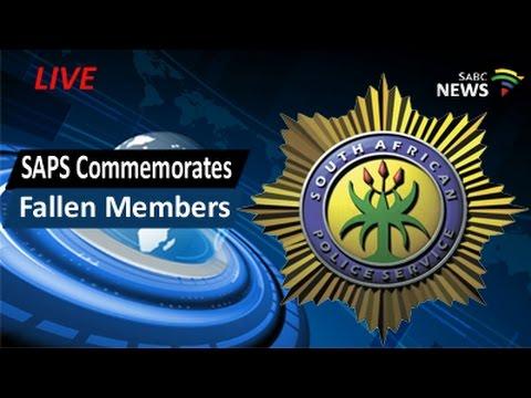 SAPS Commemorates fallen members, 04 September 2016