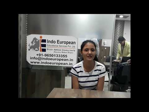Our student Binita  got study visa for FRANCE